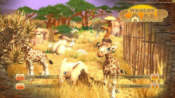 非洲腹地野生动物园