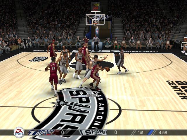 NBA LIVE 2008截图0