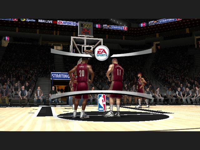 NBA LIVE 2008截图5