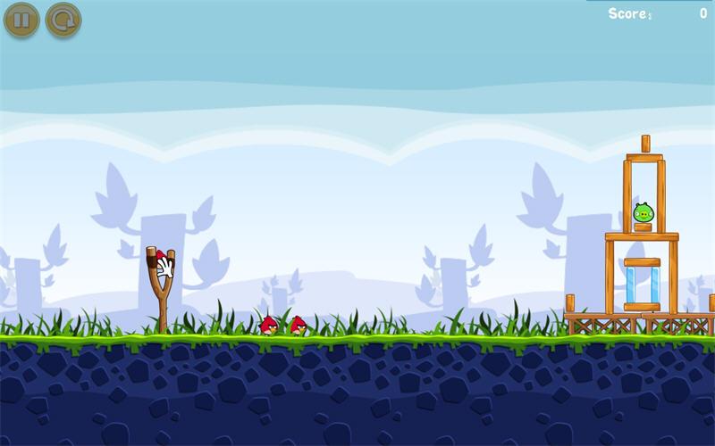 愤怒的小鸟截图1