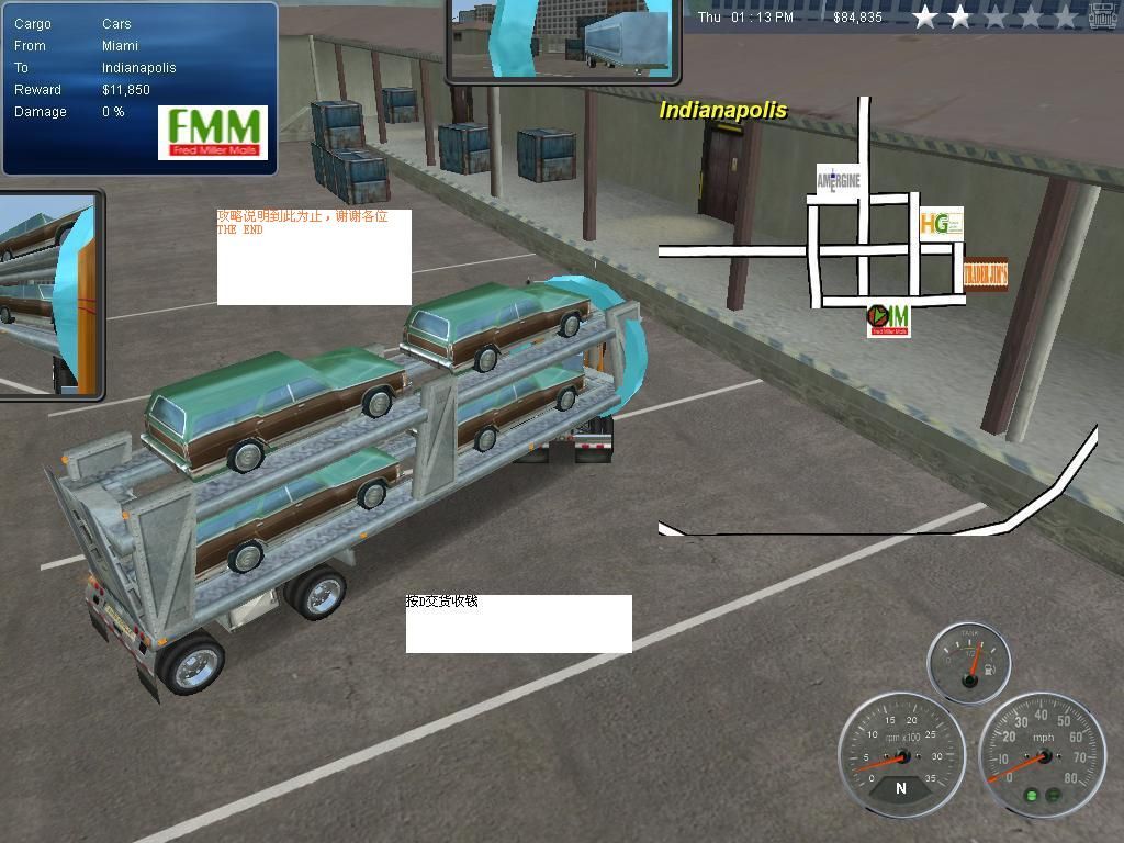 18轮大卡车2_18轮大卡车穿越美国攻略 游戏操作