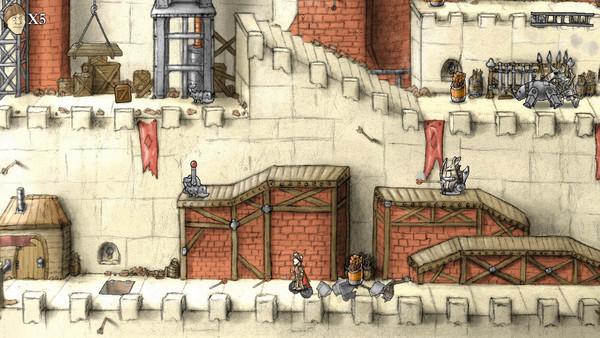 骑士勇闯摩天城堡截图2