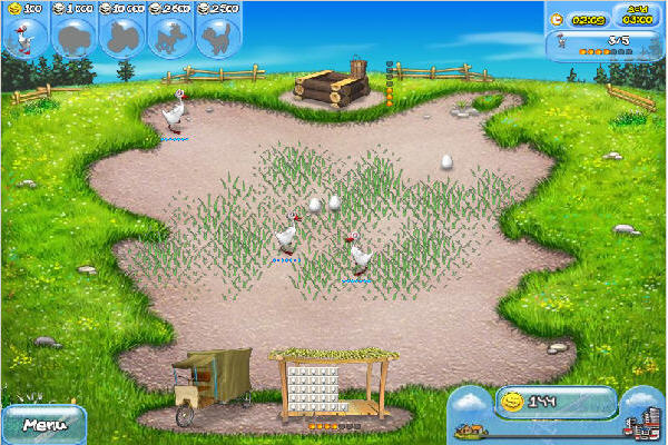 友好农场虚拟镇地图
