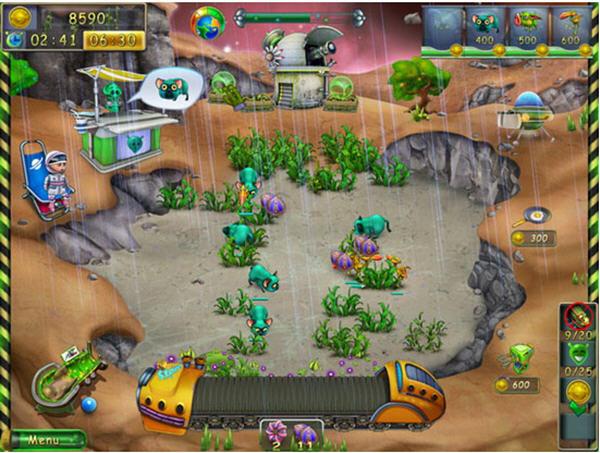 星际农场星球上玩农场 飞翔游戏
