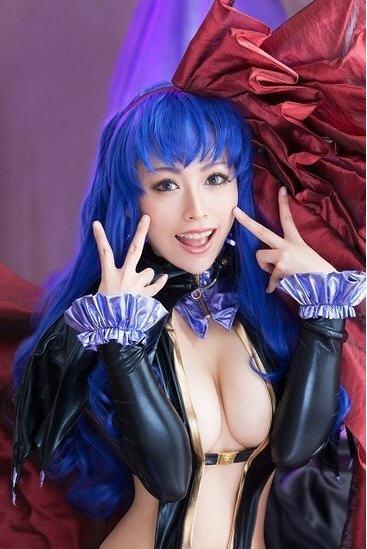 日本美少女性感cosplay合集