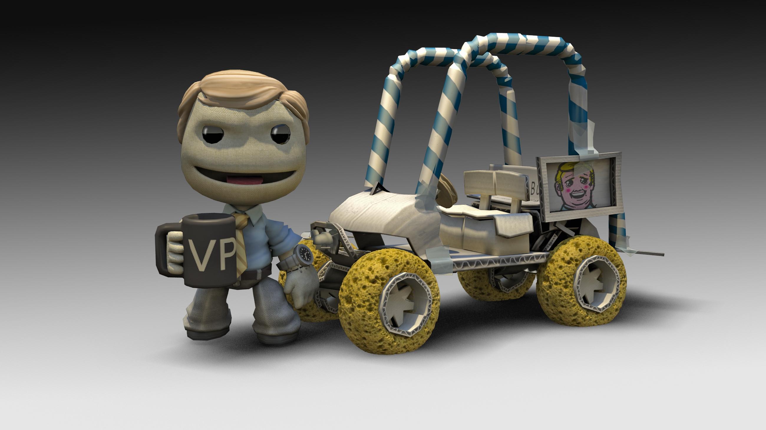 小小大星球卡丁车 ps3游戏 小小星球赛车 中英文合版1 高清图片
