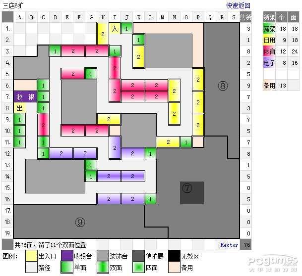 qq超市生活物语1-5口碑摆法平面图非rmb玩家