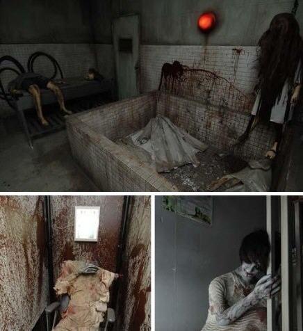 实拍日本鬼屋胆小慎入_世界上最恐怖的鬼屋-中国最恐怖的鬼屋/中国最吓人的鬼屋视频