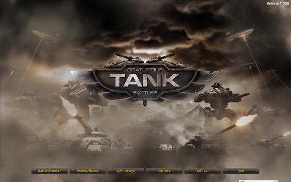 无厘头坦克大战 (gratuitous tank battles)