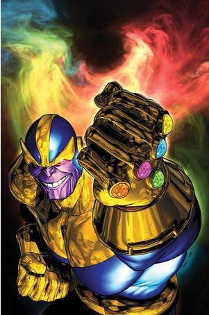 复仇者联盟 高清片尾 大反派灭霸Thanos现身