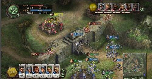 策略游戏 三国志12 官方中文版8月23日发售图片