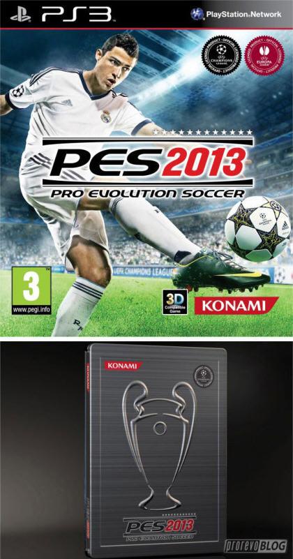 实况足球2019封面_《实况足球2013》游戏封面和铁盒版包装图曝光