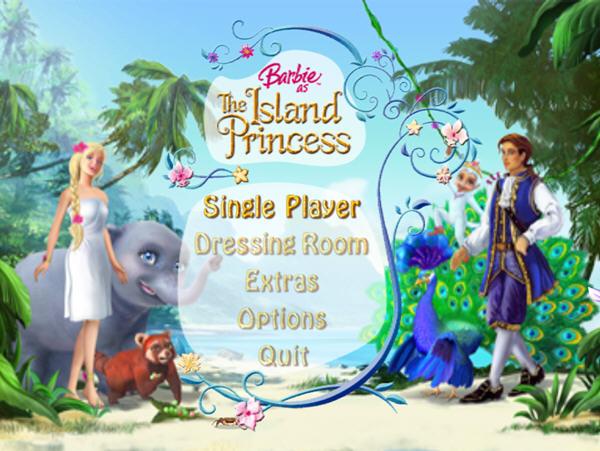 《芭比之森林公主》是由同名电影所改编的游戏,玩家扮演的由于船只失事流落到小岛的小女孩,之后她被岛上的动物家庭抚养长大,从此在森林里面快乐地生活了下去。直到有一天,一个英俊的王子来到这里并把她救走。游戏你将要控制小芭比通过重重考验前往王子所在的城堡,并且要用自己的行动来赢得王子的欢心。芭比之森林公主包含了许多电影中的原声音乐。