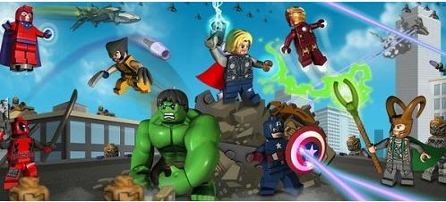 乐高漫威超级英雄》公布 复仇者联盟再度参战