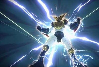 《火影忍者究极风暴 变革》机械鸣人变身九尾机器人