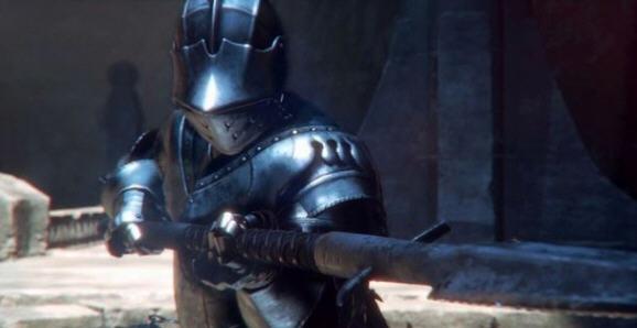 从艺术设定图可以看出,该作中的武器装备是以15世纪欧洲骑士盔甲为