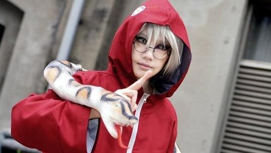 火影忍者cosplay欣赏 女版佐助霸气外露