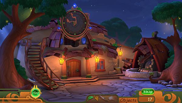 魔法房子手绘图