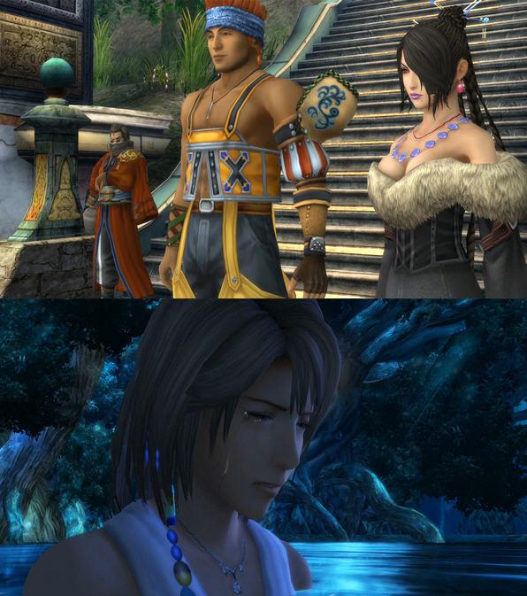 最终幻想10主题曲_《最终幻想10 hd》首部预告欣赏 经典场景重现
