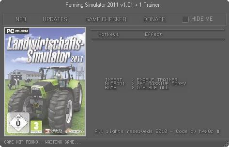 模拟农场2011修改器_模拟农场15修改器模拟农场15金钱修改器v1