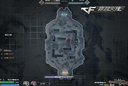 cf战场模式冰封要塞地图和宝石介绍