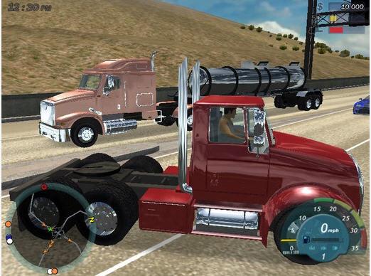 18轮大卡车:护航截图1