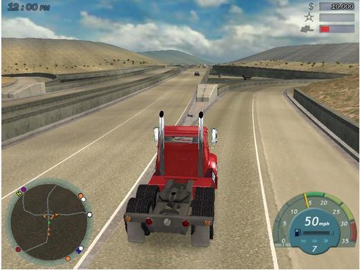 18轮大卡车2_18轮大卡车:护航
