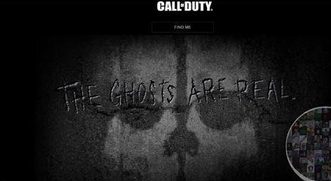 《cod:幽灵》将于2013年11月5日发售