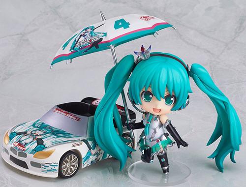 可爱之处,将歌姬与赛车完美的结合在了一起,喜欢初音未来系列手办的