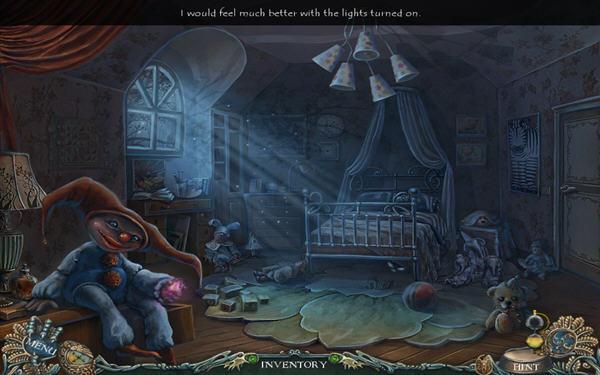 梦境这一主题 可以看出游戏中的场景是以小女孩生活
