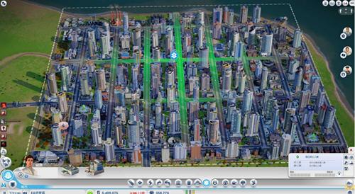 城市人口结构_模拟城市5 百万人口