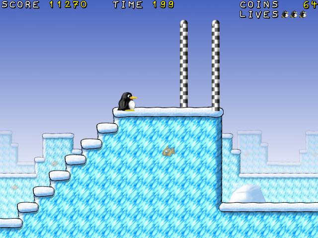 游戏 白烟 企鹅/游戏介绍该游戏是一款类似于超级玛丽的横版过关游戏,不过主角...