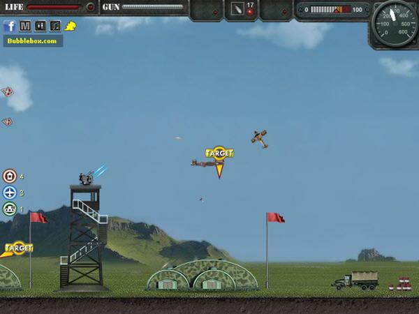 《王牌轰炸机》是一款飞行射击类的小游戏,游戏与大多数的飞行射击类游戏不同的是游戏并不是一直横轴飞行过关,而是在一个场景中执行轰炸任务,将目标全部炸毁才能过关。游戏已经破解,金钱无限,生命999条,让你毫无顾忌的碾压对手。游戏介绍:在宏大的战争中