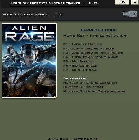 Редкие читы - Которая скачать трейнер для alien rage - Файл найден.