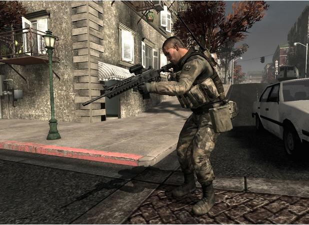美国陆军3_美国陆军游戏《美国陆军3》开发者军训_单机