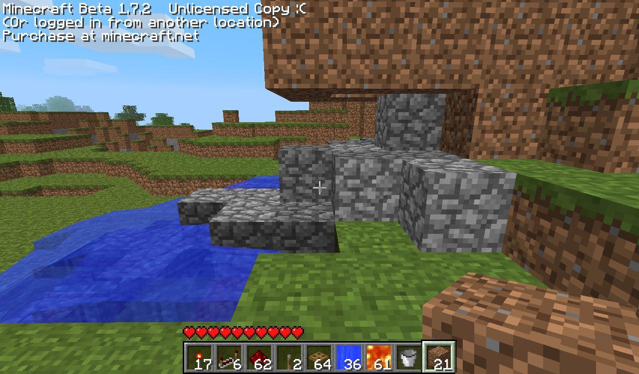 我的世界水流,岩浆重复控制系统制作心得