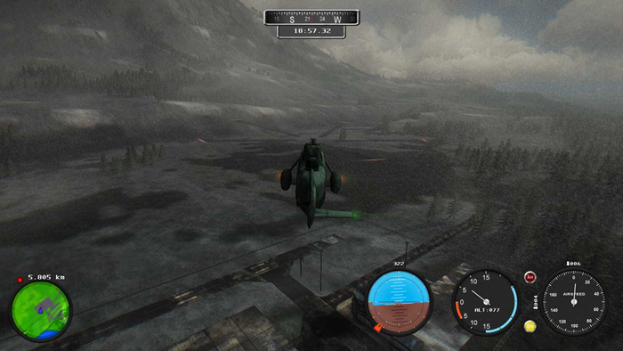 直升机模拟:搜索与救援