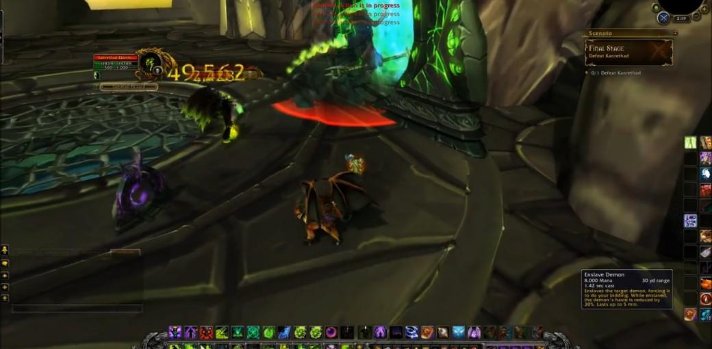 魔兽世界6.0术士绿火职业任务难度或提高