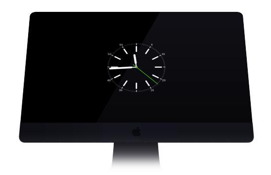 苹果手表屏保 apple watch screensaver for os x v2.0 官方免费版