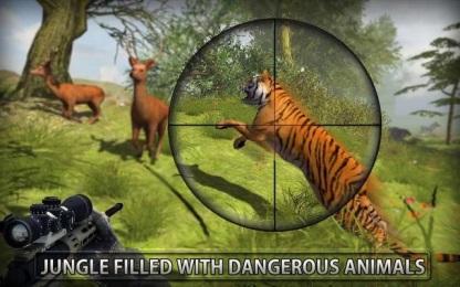 丛林动物狩猎无限金币破解版