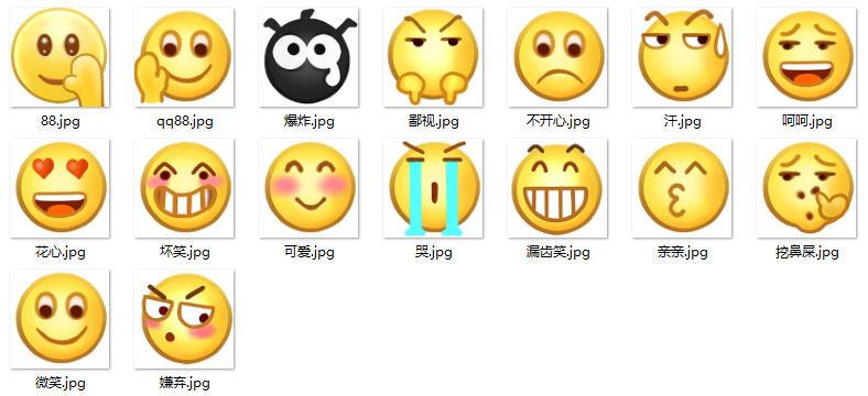 QQ系统表情大图