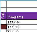 Blue Excel甘特图计划生成工具
