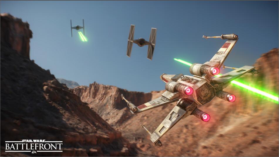 游戏的战役模式将跨越《星球大战》历史上的大部分年代,据称比大多数现代游戏的跨度都要大。不仅如此,游戏战役的最终区域应该是作为即将上映的电影《星球大战:原力觉醒》的前传部分。游戏的多人模式将支持64名玩家联机对战,战斗规模将从太空直至地面。另外,游戏中还有一个全新的英雄系统。根据爆料,玩家可以积累点数,购买英雄角色游玩。英雄角色非常强力,有着大多数战斗中的普通角色所没有的能力。另外,EA和DICE对于《星球大战:前线》的DLC有着非常积极的计划。据称大概会有五款DLC,首款将会在2015年末发售。