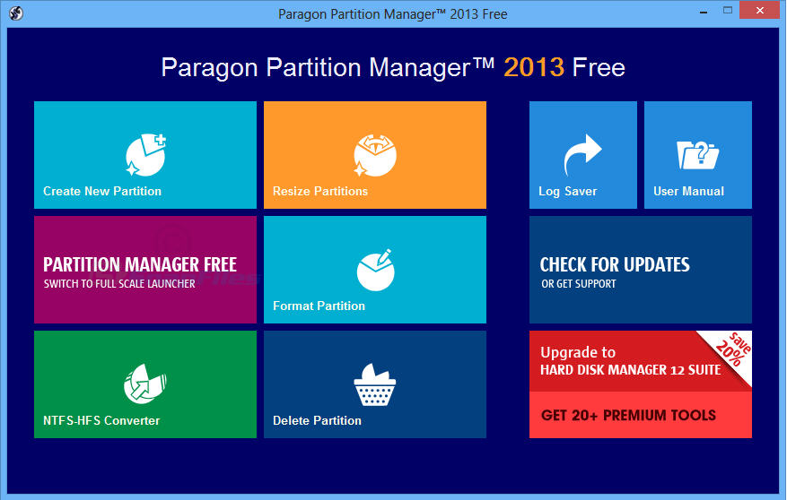 PM硬盘分区魔术师(Paragon Partition Manager 14)官方免费版