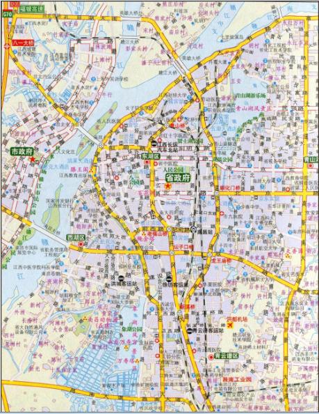 最新南昌地图全图(南昌交通地图)v1.0