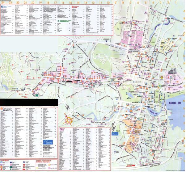 最新新加坡旅游地图全图v1.0