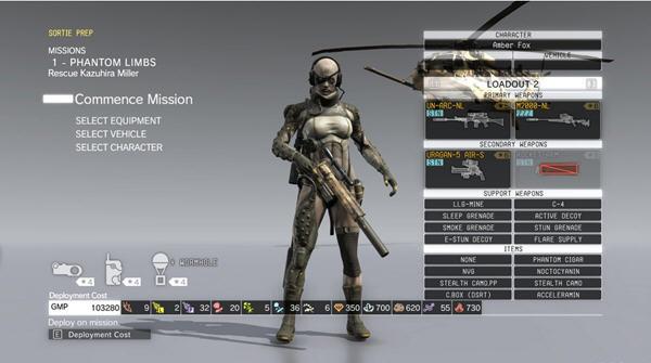 合金装备5幻痛_合金装备5:幻痛女性骷髅兵模型替换mod
