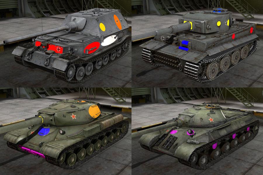 坦克世界9.13自动锁定弱点插件
