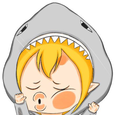 斗鱼tv鲨鱼娘表情合集|斗鱼tv鲨鱼娘qq表情包下载图片