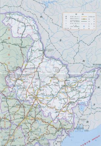 黑龙江省交通地图高清版免费版